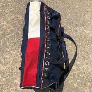 Vintage Tommy Hilfiger Big Flag Duffel Bag